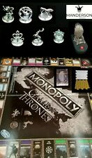 Monopoly Game Of Thrones Adult Board Game Replacement Pieces Tokens Cards Board