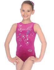 Vêtements justaucorps rose pour fille de 2 à 16 ans