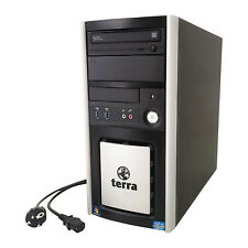 Office Büro PC Terra Business 6100 Silent Core i5 4x3.2 8GB RAM HDD SSD ATI HD