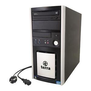 Office Büro PC Terra Business 6100 Silent Core i5 4x3.2 8GB RAM HDD SSD ATI HD