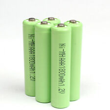 Pro 5pcs AAA 3A 1.2V 1800mAh Ni-MH rechargeable battery Solar Light MP3 RC Green