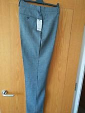 Reiss Slim Fit Charcoal Trousers