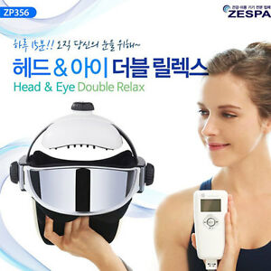 ZESPA ZP356 Air Compression Head Eye Double Relax Massager Vibration Music Warm
