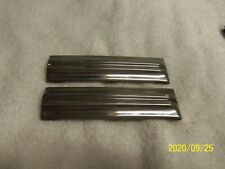 1940 Buick Cowl Stainless Trim Pair