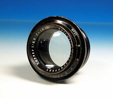 Carl Zeiss Jena Tessar 4.5/18cm old lens Objektiv Photographica - (90182)