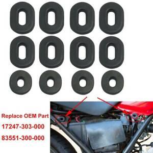 12 Pcs Side Panel Rubber Grommet Set For Honda CB100 CB125 XL100 XL125 CB500/750