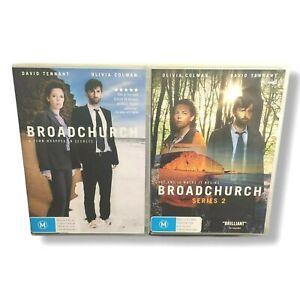 Broadchurch TV Series Complete Seasons 1 & 2 - Region 4 AUS DVD
