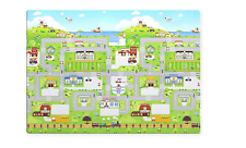 "Babycare Playroom/Outdoor Multi Purpose Mat ""Run To Town"""