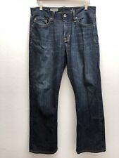 AG ADRIANO GOLDSCHMIED Mens 32x32 The Protege Straight Leg Denim Jeans Dark Wash