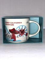 STARBUCKS YOU ARE HERE MUG DISNEY CALIFORNIA ADVENTURE (DCA)  (NIB)