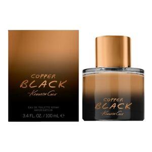KENNETH COLE COPPER BLACK * 3.4 oz (100ml) EDT Spray * NEW & SEALED