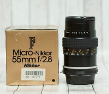 Nikon Micro-NIKKOR 55mm f/2.8 Lens AI-S NEW