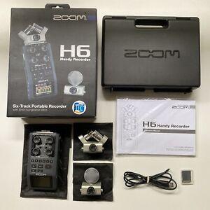 Zoom H6 6-Track Portable Digital Recorder