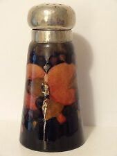 RARE EARLY MOORCROFT POMEGRANATE DESIGN PEWTER SUGAR SIFTER SHAKER SIGNED