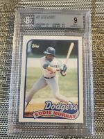 1989 TOPPS TRADED EDDIE MURRAY #87T GRADED BGS 9 MINT DODGERS / ORIOLES PSA 10??