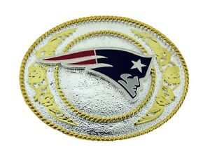 New England Patriots NFL Football Officially Licensed Belt Buckle Siskiyou New