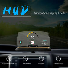Universal Car HUD Head Up Display Projector Phone GPS Navigation Image Reflector