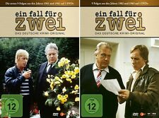 6 DVDs * EIN FALL FÜR ZWEI - BOX 1 + 2 (FOLGE 1-18) IM SET - Strack # NEU OVP !
