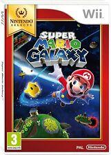 Nintendo Selects: Super Mario Galaxy (Nintendo Wii) VGC