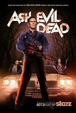 Ash VS LA CASA Bruce Campbell Horror show televisivo POSTER A4 260GSM