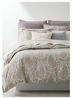 Ralph Lauren Home Claudia Paisley Queen Duvet and Shams Set-MSRP $350-NWT 3pc