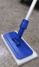 Edge & Floor Cleaning Tool - SYR - Swivel-Head - c/w 1.2m Handle & 4 Pads