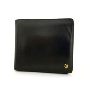 Cartier Pasha Black Leather Bifold Wallet /70539