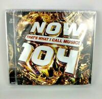NOW THATS WHAT I CALL MUSIC 104! Music Audio CD Various Artists New And Sealed
