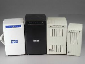 LOT of 4 USED UPS Tripp Lite Battery Backup Power Supplies They Need Batteries