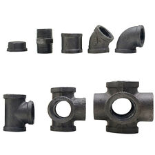 """INDUSTRIAL MALLEABLE IRON PIPE FITTINGS CONNECTORS JOINTS 3/4"""" INCH"""