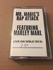 Mr Magic's Rap Attack W/ DJ Marley Marl 11/83 Cassette Mixtape 80s Tape