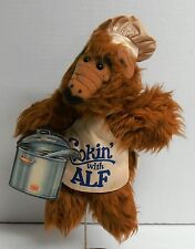 1988 Cookin' with Alf Burger King Hand Puppet with Tag Alien Productions