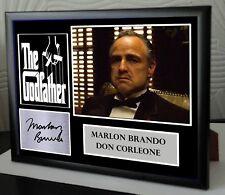 THE GODFATHER SIGNED MARLON BRANDO TRIBUTE