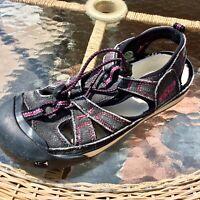 Keen Coronado Women's Size 7.5 Waterproof Hiking Sport Sandals Black/Purple 5393