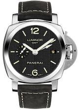 PAM00535 | BRAND NEW PANERAI LUMINOR 1950 3 DAYS GMT ACCIAIO 42MM MENS WATCH