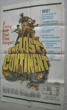 Filmplakat,Plakat, THE LOST CONTNENT,ERIC PORTNER,HIDEGARD KNEF,S LEIGH,#109