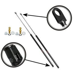 Qty2 Acura Integra Hatch 1994 to 2001 Lift Supports With Large Spoiler Wing
