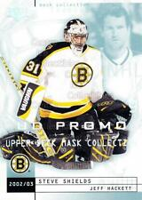 2002-03 UD Mask Collection UD Promo #9 Steve Shields, Jeff Hackett
