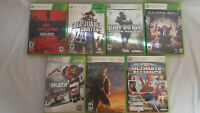 Xbox 7 Game Bundle/ Lot