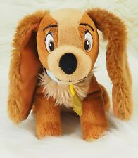 "Disney LADY from Lady and the Tramp Movie - Plush Dog Toy Measures 7"" tall"