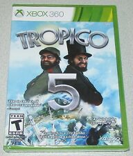 Tropico 5 for Xbox 360 Brand New, Factory Sealed! Fast Shipping!