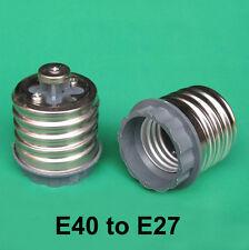 Goliath Screw E40 GES to Edison ES E27 Light Bulb Lamp Adaptor Base Converter