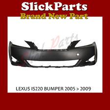 LEXUS IS IS250 IS220 FRONT BUMPER 2005 2006 2007 2008 2009 *NEW*  5211933350
