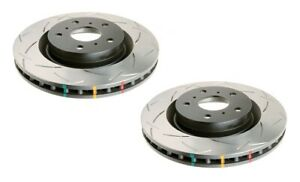 DBA T3 4000 4x4 Slotted Brake Rotor Pair Front DBA42336S fits Nissan Skyline ...
