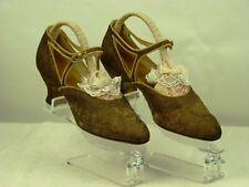 "Vintage 1920's Ladies ""Flapper"" Shoes By Gooch of Knightsbridge London Uk 5 Eu38"