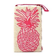 Bamboo Trading Company Cell Phone or Club Bag, Pink Pineapple