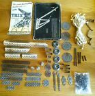Vintage Trix Construction Toy Set Parts with Manual & Leaflet