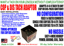 Cop / Dis Tach Adapter, convert Cop or Dis-pack ignition to any 4-8-cyl Tach