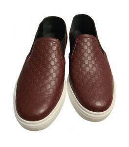 Gucci Men Leather Mules Loafers Sneakers Shoes Size 8