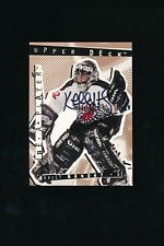 1994 - 1995 Autograph Upper Deck Be A Player #140 Kelly Hrudey Signed